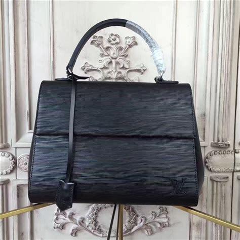 louis vuitton cluny mm noir aaa handbag