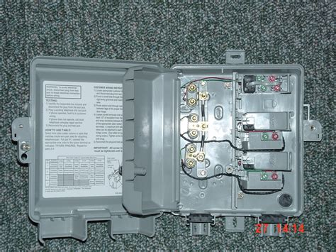 Demarc Box Wiring Diagram by Click To View Picture