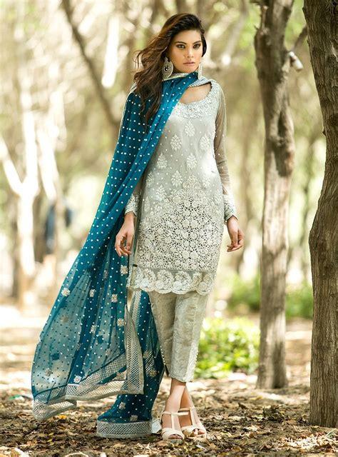 silver  teal dress desi eid dresses dresses