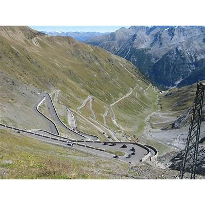 Picture-Perfect Stelvio Pass In Italy