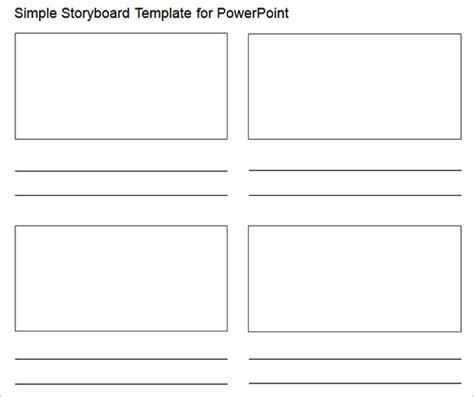 Storyboard Powerpoint Template Costumepartyrun