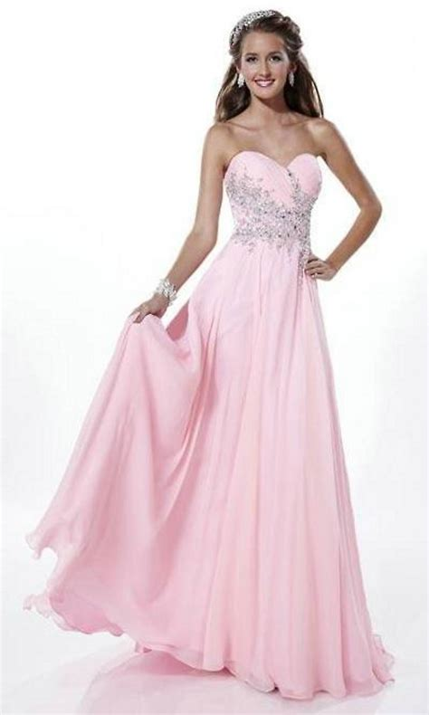 cheap designer clothes for pink prom dresses you look lovely trendy dress