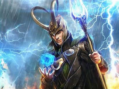 Loki Desktop Marvel Wallpapers Fantasy Thor Artwork