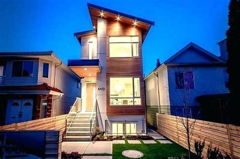 narrow house  garage google search narrow house plans  story house design narrow