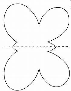 Dessin Facile Papillon : imprimer le mod le pour papillon de papier t te modeler ~ Melissatoandfro.com Idées de Décoration