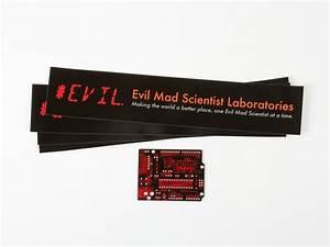Evil Mad Scientist Laboratories Stickers