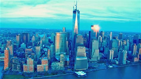 New York City Aerial View Videos Best Of Nyc Youtube