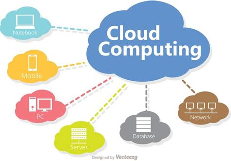black 2 file cloud computing technology concept vector download free