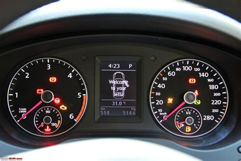 volkswagen dashboard 2011 volkswagen jetta highline at page 4 team bhp