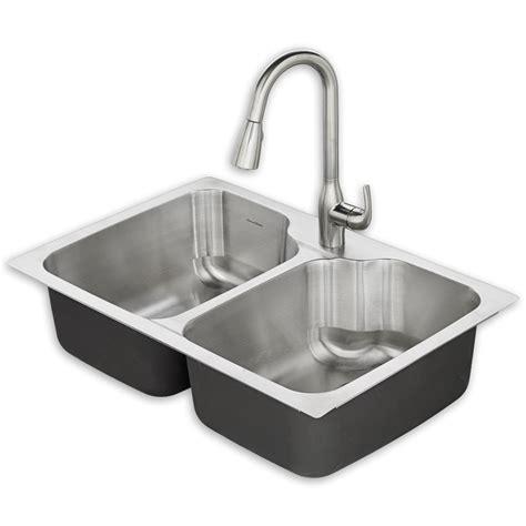 Tulsa 33x22 Kitchen Sink Kit American Standard
