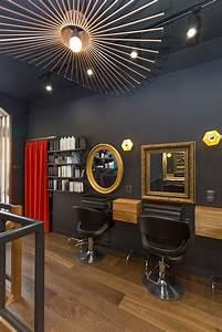 Decoration Mur Interieur Salon : les 25 meilleures id es concernant salon de coiffure d cor ~ Dailycaller-alerts.com Idées de Décoration