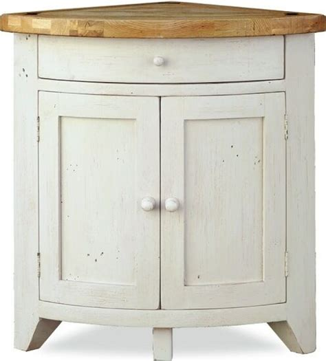 Corner Sideboards by Minack Oak Corner Cupboard Country Style Painted