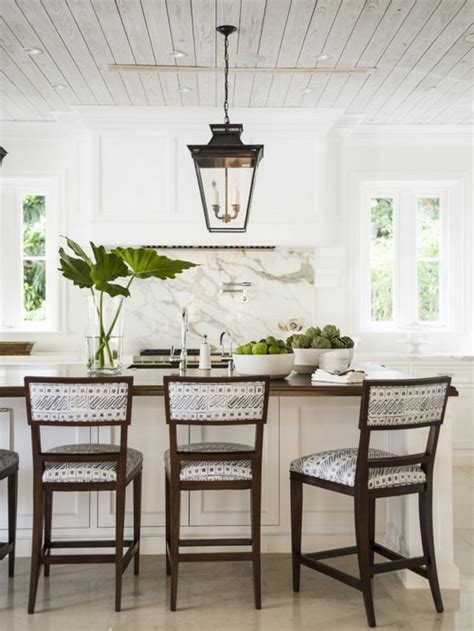 pinterio white dining room with candle chandelier