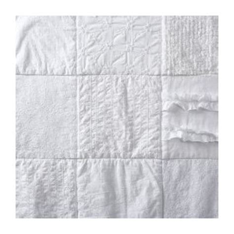 target shabby chic patchwork quilt simply shabby chic 174 patchwork quilt white target polyvore