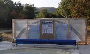 abri de piscine en kit une bonne solution With fabriquer un abri de piscine