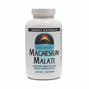 Source Naturals Magnesium Malate Supplement