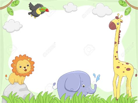 Baby Jungle Animals Wallpaper - wallpaper clipart jungle animal pencil and in color