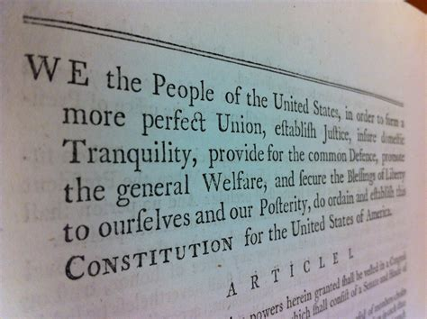 The Law Library's Constitution Helps Swear In Congress