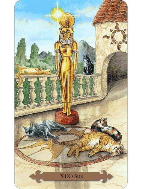 mystical cats tarot  fools dog
