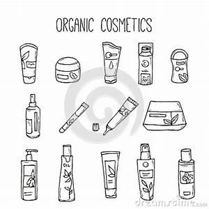Vector Cosmetic Bottles. Organic Cosmetics Illustration ...