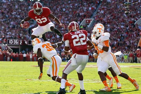 tennessee  alabama final score crimson tide roll