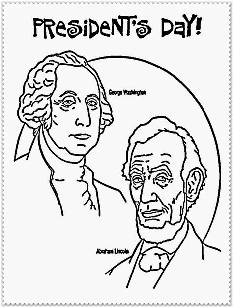 presidents day coloring pages president s day coloring pages realistic coloring pages