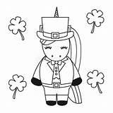 Leprechaun Fat Cartoon Patrick St Vector Ale Froth Pot Coloring Illustration Hat sketch template