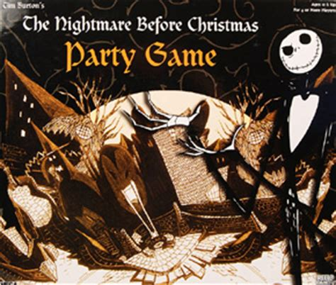 nightmare before christmas party game quixotic ludography
