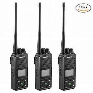2 Way Radio  Samcom Fpcn10a 20 Channels Gmrs Walkie Talkie With Group Button Uhf 400