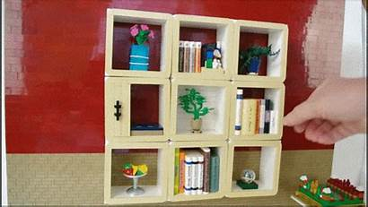 Bookshelf Silly Hinges Don Ordinary Brick Brothers