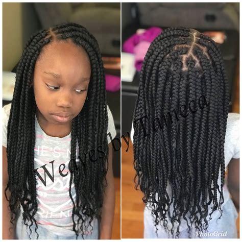 kids box braids   kids braided hairstyles kid