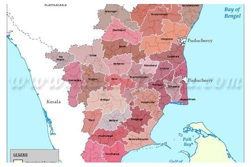 tamil nadu map village baixar gratuitos