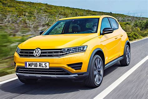 volkswagen polo suv pictures auto express