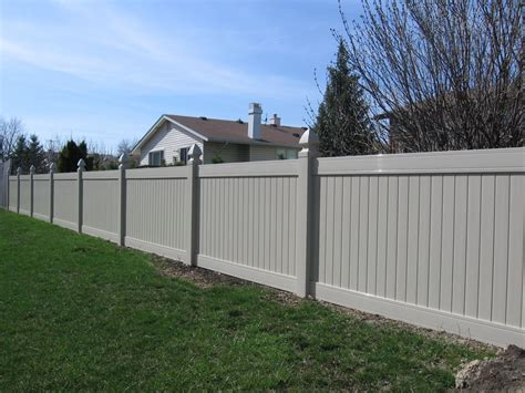 Vinyl Privacy Fence  Bing Images