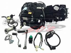 Lifan 50cc Auto Clutch Engine With Accessories