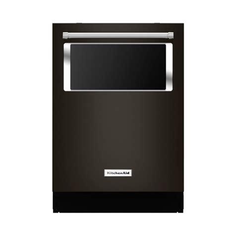 Kitchenaid Dishwasher Best Buy by Kitchenaid 24 Quot Built In Dishwasher Black Kdtm804ebs Best Buy