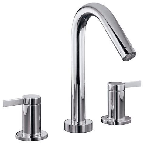 Kohler Stillness Widespread Faucet by Kohler Stillness 174 Widespread Bathroom Faucet Modern