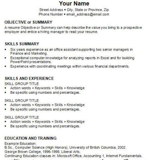 How To Write Your Resume For Your by How Do You Write A Resume For Your 28 Images How To Write An Academic Resume For College