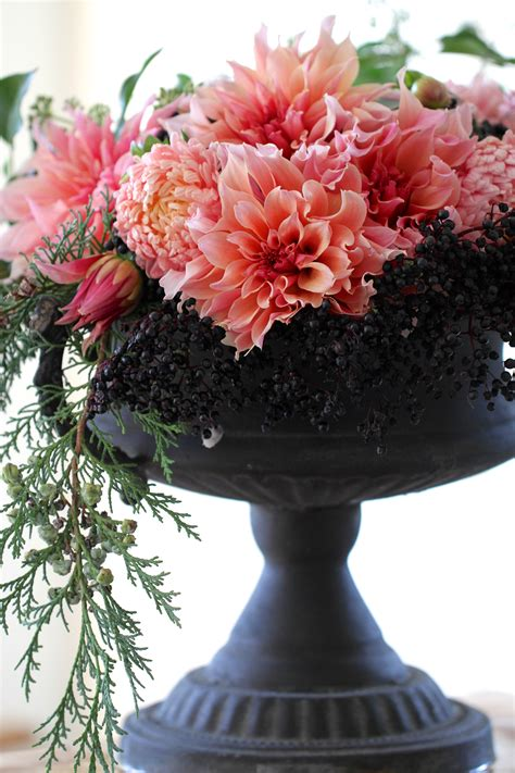 You Place The Flowers In The Vase by In A Vase On Monday Dahlias A Winner