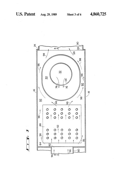 Patent Power Burner Fluid Condensing Mode
