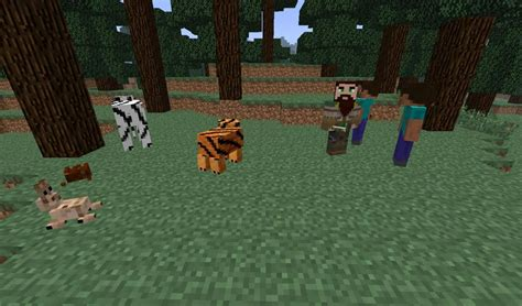 [1.7.10/1.7.2] [forge] More Mobs Mod [more Than 35 New