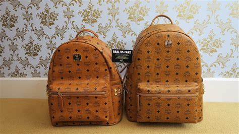 spot real  fake mcm backpack authentic  replica mcm stark backpack review guide