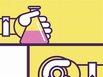 Chemistry Chunky Quimica Dribbble Articulo