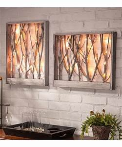 25 best ideas about wall lighting on pinterest wall With what kind of paint to use on kitchen cabinets for tree trunk wall art