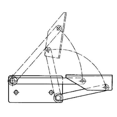 siege coffre bateau charnière mécanisme pour banquette fourgon et cing car