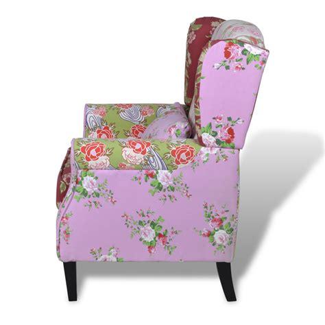la boutique en ligne fauteuil design patchwork multi