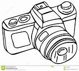 Camera Coloring Books sketch template