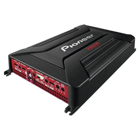 pioneer gm  watt  channel car amplifier  speakers subwoofer amp  ebay