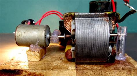 Electric Motor Experiment by Free Energy 220v Electric Dc Motor Generator