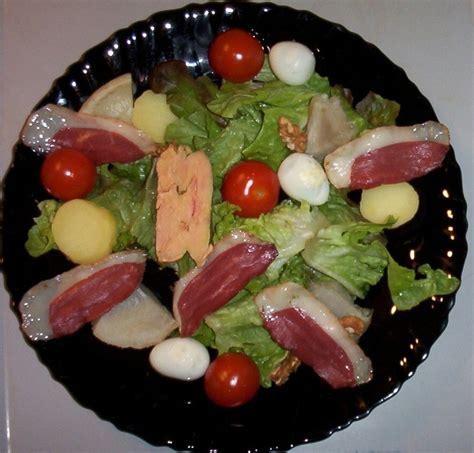 cuisine escargots salade au foie gras et au magret fumé la cuisine de tata
